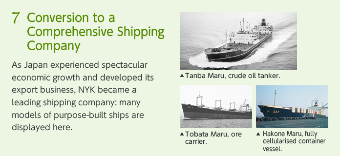 7:Conversion to a Comprehensive Shipping Company